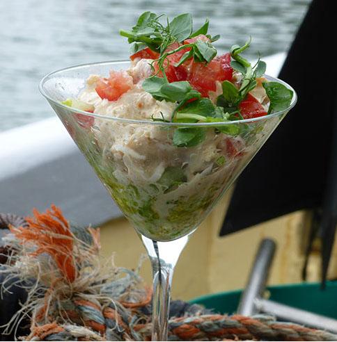 Brian Turner Crab Cocktail